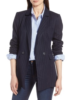 Halogen® Double Breasted Blazer (Regular & Petite)
