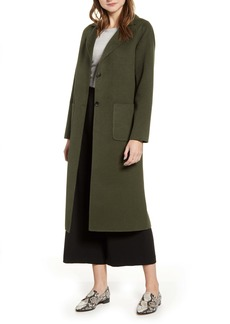 Halogen® Double Face Long Coat
