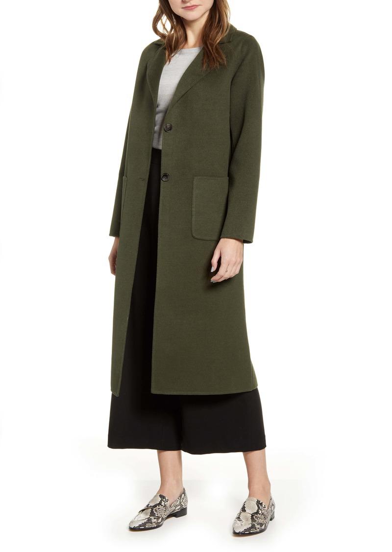 Halogen® Double Face Long Coat