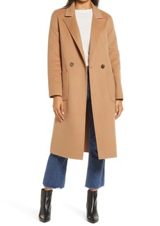 Halogen® Double Face Wool Coat