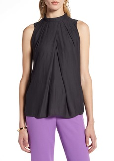 Halogen® Draped Tank Top