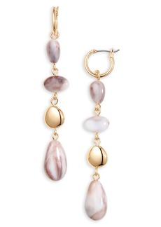 Halogen® Droplet Linear Earrings
