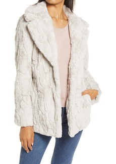 Halogen® Faux Fur Coat