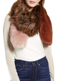 Halogen® Faux Fur Stole
