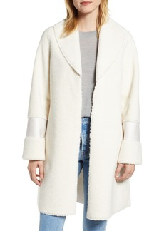 Halogen® Faux Shearling Coat