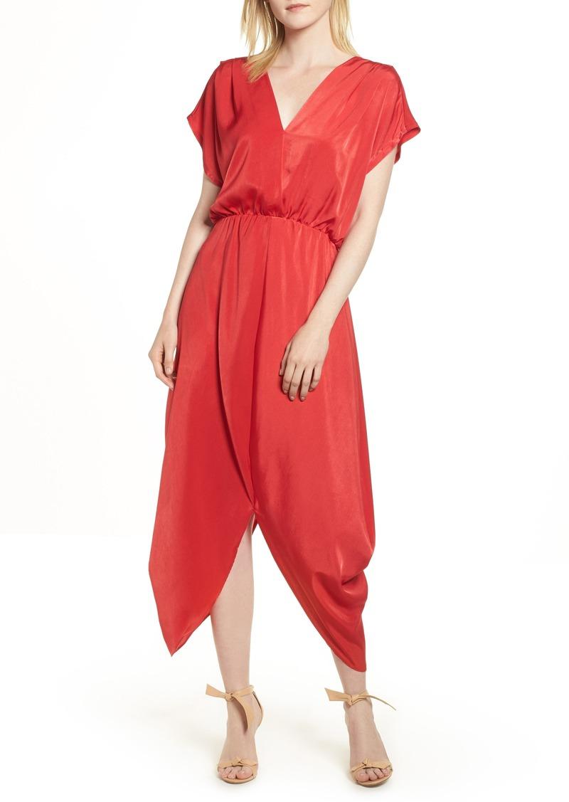 e065ec8bd62 SALE! Halogen Halogen® Faux Wrap Maxi Dress (Regular   Petite)