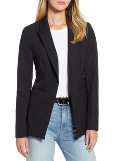 Halogen® Fitted Blazer (Regular & Petite)