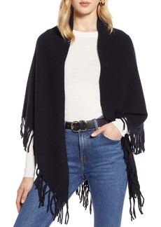 Halogen® Fringe Cashmere Blanket Scarf