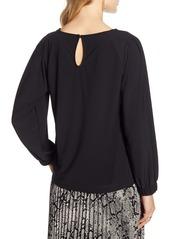 Halogen® Full Sleeve Knit Top