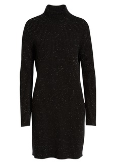 Halogen® Funnel Neck Sweater Dress (Regular & Petite)