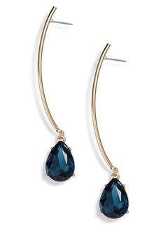 Halogen® Gemstone Linear Drop Earrings
