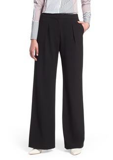 Halogen® High Waist Wide Leg Pants (Regular & Petite)