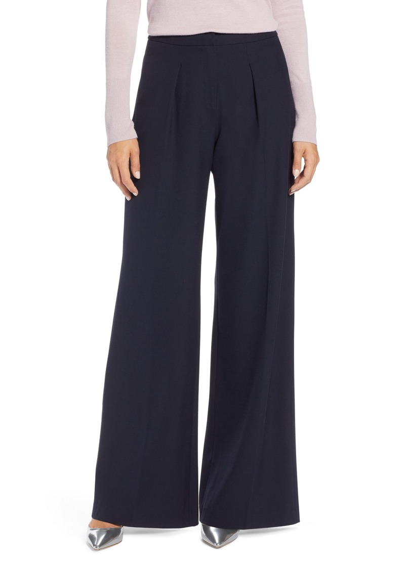 e261f90eacb Petite High Waisted Wide Leg Dress Pants - Gomes Weine AG