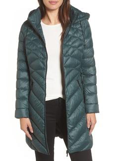 Halogen® Hooded Down Puffer Jacket