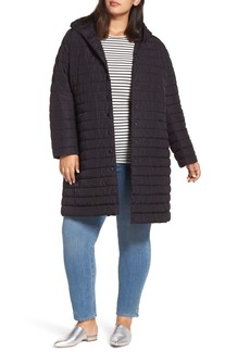 Halogen® Hooded Long Puffer Jacket (Regular & Plus Size)