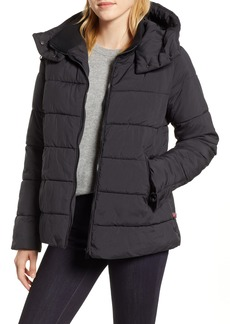 Halogen® Hooded Puffer Jacket