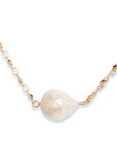 Halogen® Imitation Pearl Necklace