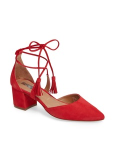 Halogen® Iris Lace-Up d'Orsay Pump (Women)