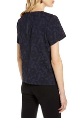 Halogen® Jacquard Top (Regular & Petite)