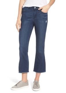 Halogen® Kick Flare Jeans (Stardust)