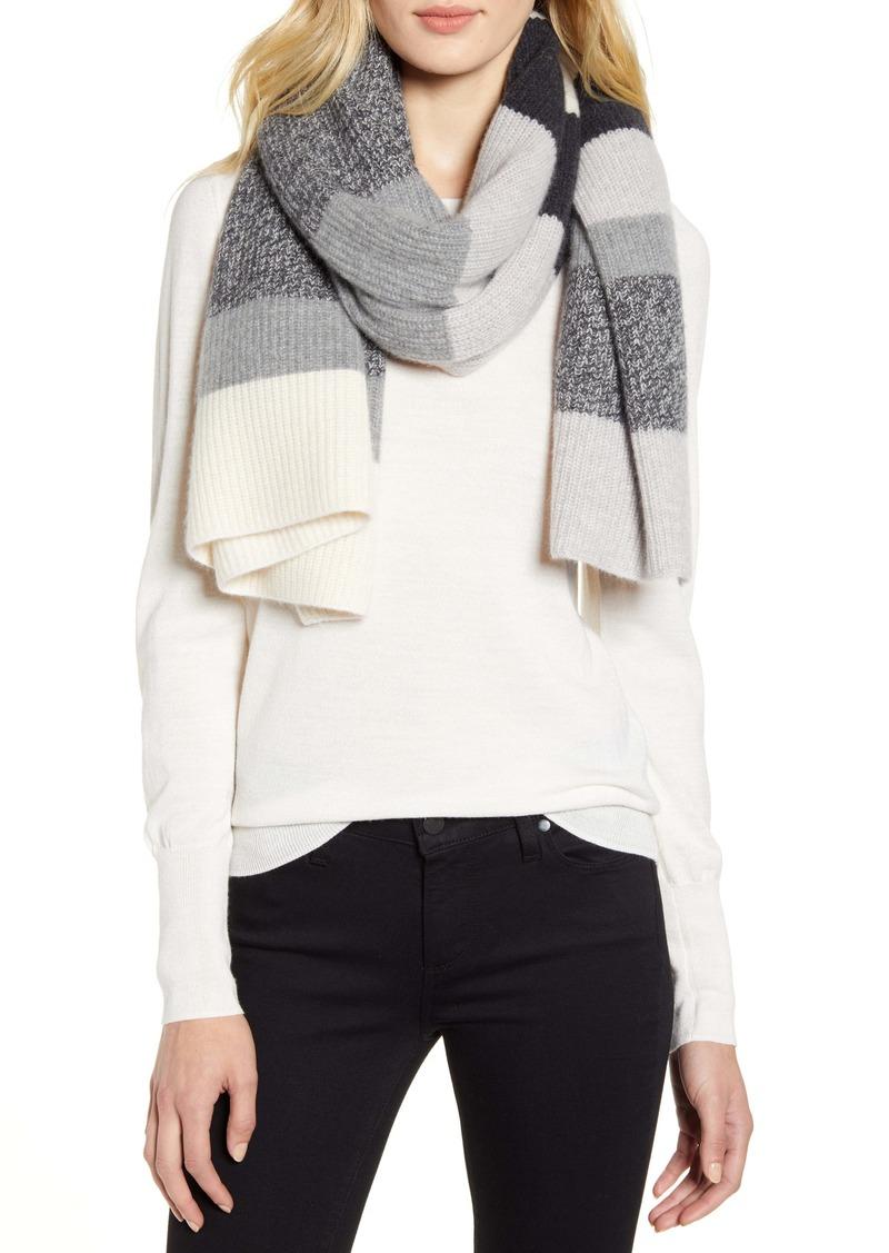Halogen® Knit Cashmere Scarf