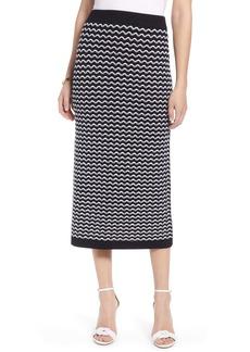 Halogen® Knit Midi Skirt
