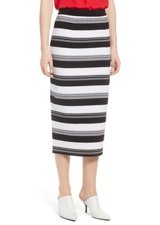 Halogen® Knit Pencil Skirt (Regular & Petite)