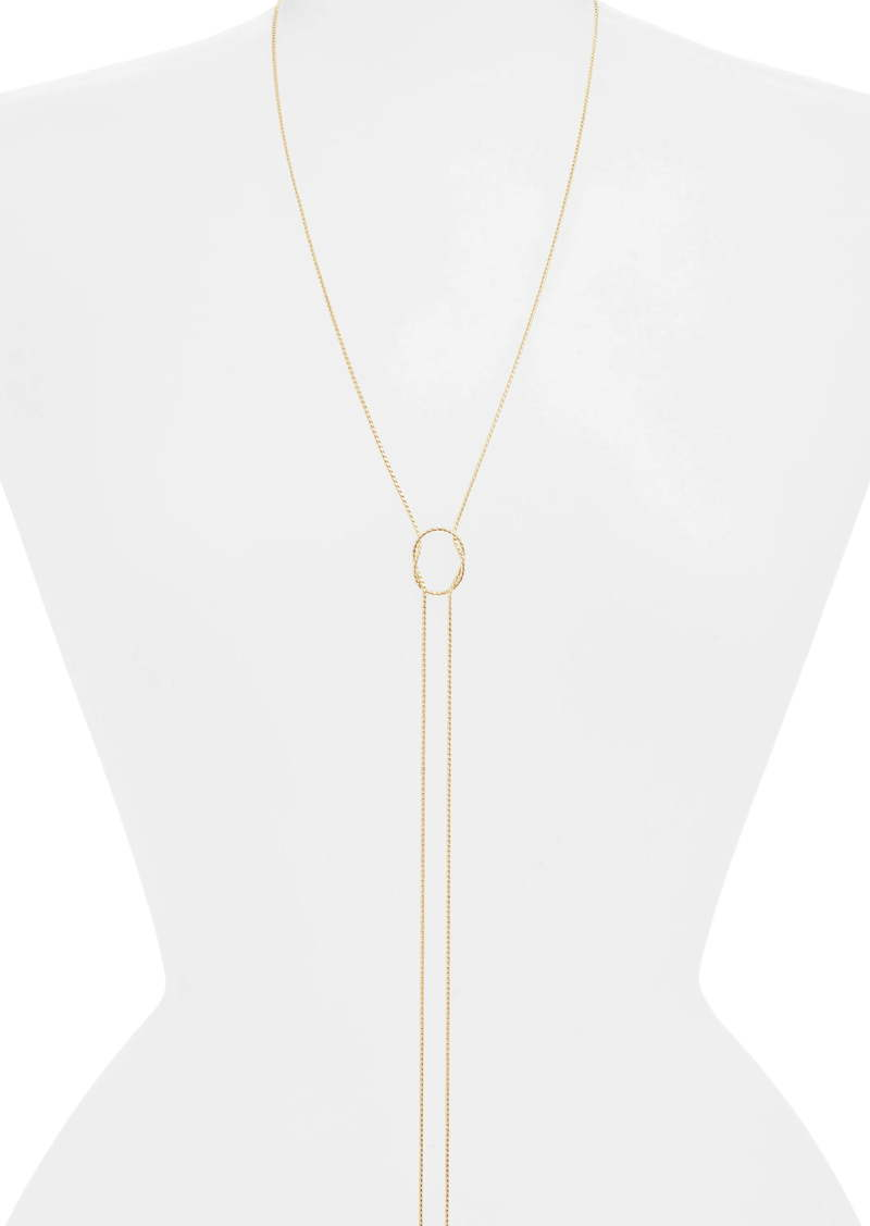Halogen® Knotted Y-Necklace
