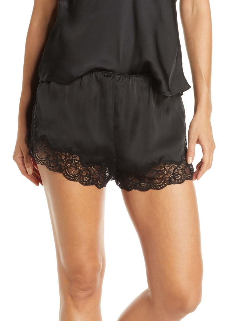 Halogen® Lace & Satin Shorts