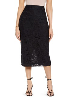Halogen® Lace Pencil Skirt
