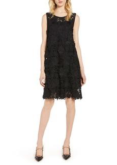 Halogen® Lace Shift Dress