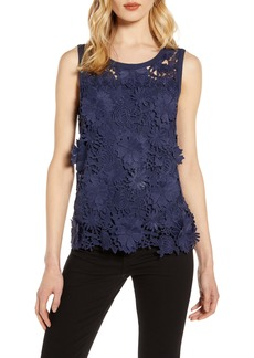 Halogen® Lace Tank Top