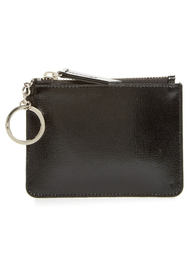 Halogen® Leather Coin Pouch Bag Charm