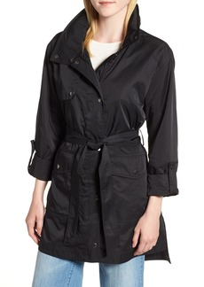Halogen® Lightweight Trench Coat