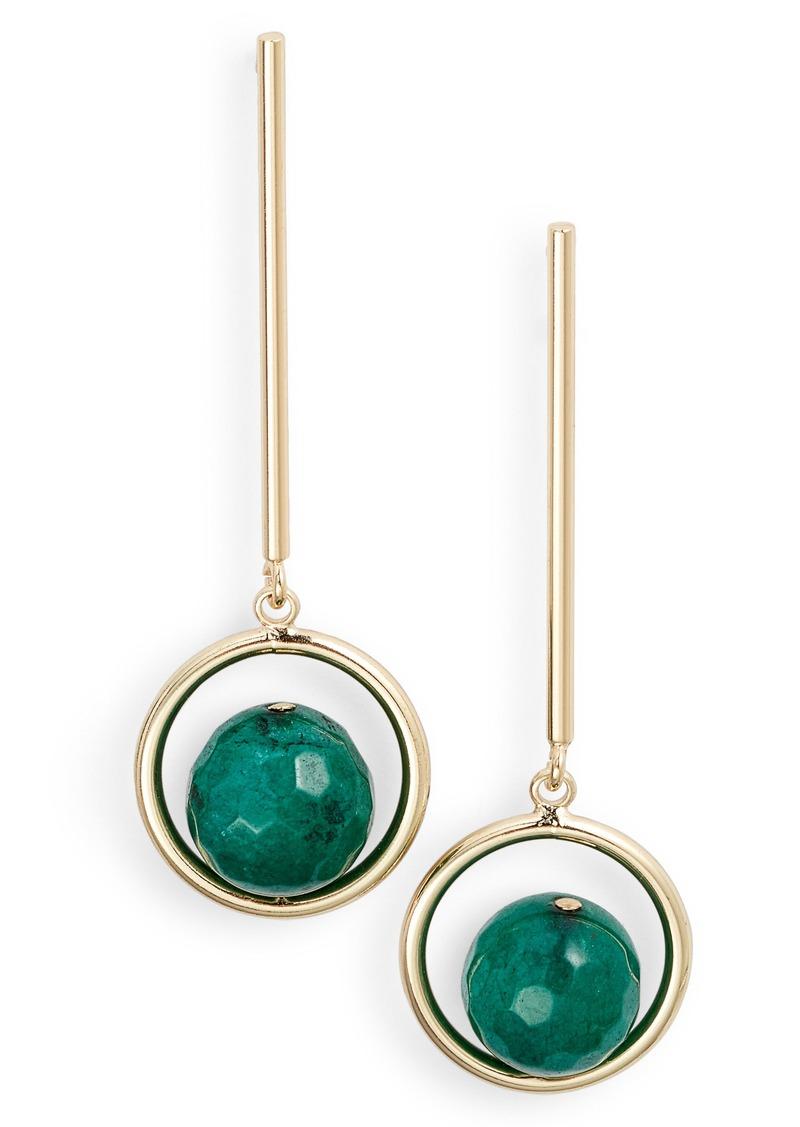 d961ffaaafd7 Halogen Halogen® Linear Stone Drop Earrings