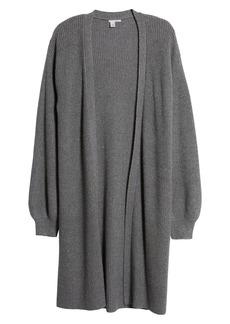 Halogen® Long Blouson Sleeve Cardigan (Regular & Petite)