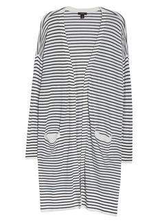 Halogen® Long Cardigan (Plus Size)