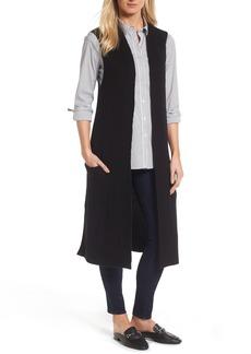 Halogen® Long Knit Vest