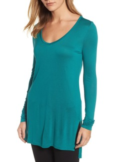 Halogen® Long Sleeve Lightweight Tunic