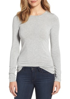 Halogen® Long Sleeve Modal Blend Tee