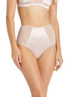 Halogen® Luster High Waist Panties