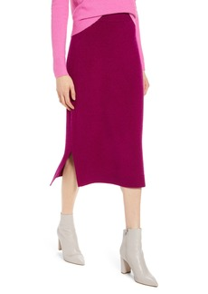 Halogen® Midi Sweater Skirt