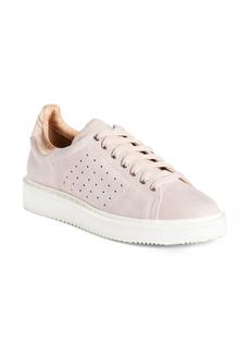 Halogen® Mills Leather Sneaker (Women)
