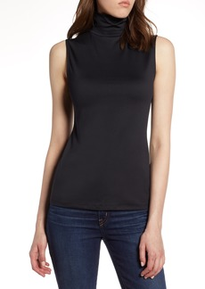 Halogen® Mock Neck Shell Top (Regular & Petite)