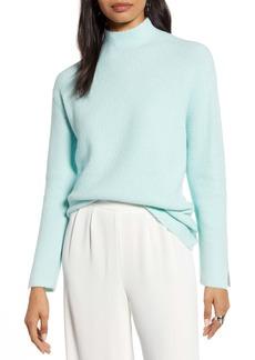 Halogen® Mock Neck Sweater