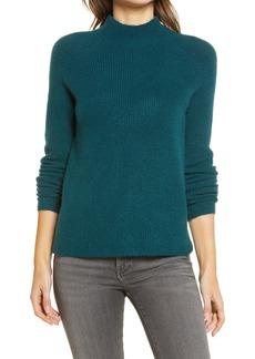 Halogen® Mock Neck Sweater (Regular & Petite)