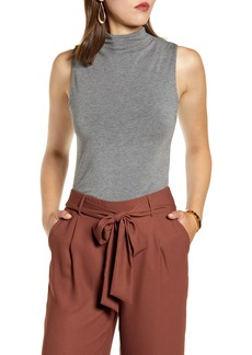 Halogen® Mock Neck Tank Top (Regular & Petite)