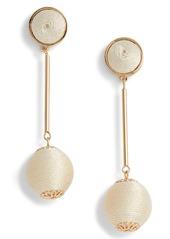 Halogen® Mod Ball Drop Earrings