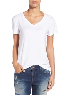 Halogen® Modal Jersey V-Neck Tee (Regular & Petite)
