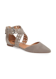Halogen® Molly Pointy Toe Flat (Women)
